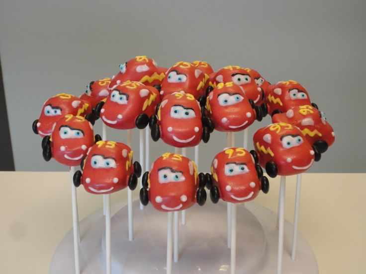 17 Best ideas about Cars Cake Pops on Pinterest Car ...