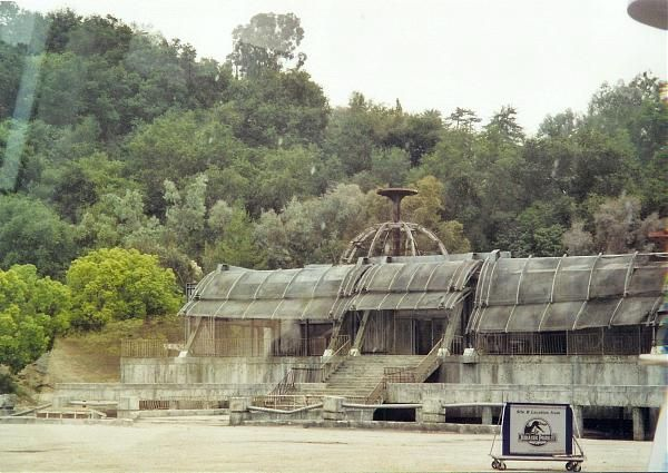 Building Used For Jurassic Park Films Jurassic Park Film Abandoned Places Water Park