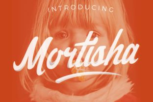 Mortisha - Free Font of the Week - Creative Fabrica