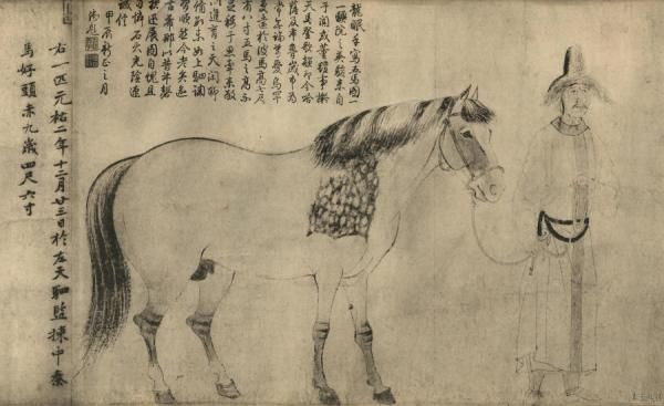 Five house painting li gongling 39 s work song song dynasty for Dynasty mural works