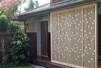 Vinyl Lattice Panels Fence Topper Pattern D140