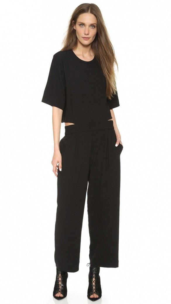 IRO Aledia Jumpsuit in Black