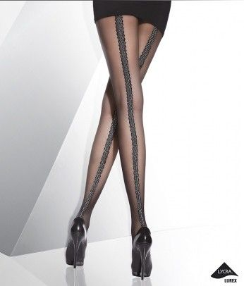 Luca Patterned Tights