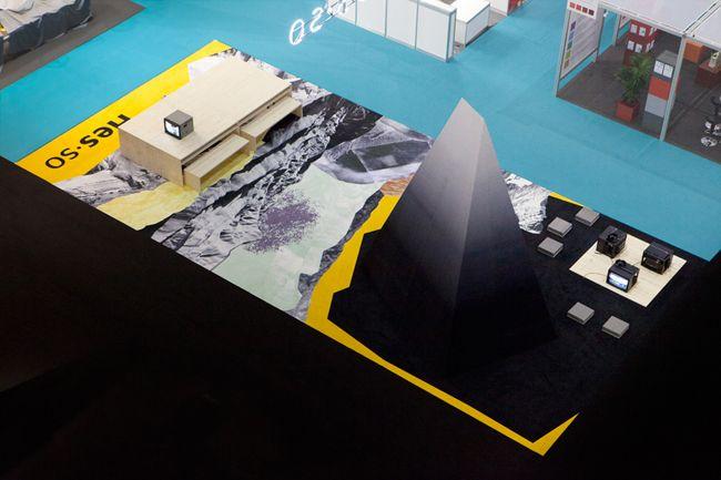 Salon du livre et de l'étudiant, bureau sacha von der potter, 2012, set design