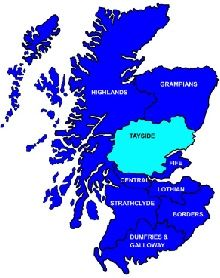 Scotland - Tayside: holidays, weekend breaks, days out, things to do