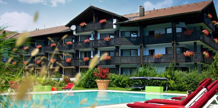Deutschland Bayern Allgäu Oberstaufen Golf- & Alpin Wellness Resort Hotel Ludwig Royal