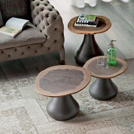 Bout de canapé champignon design