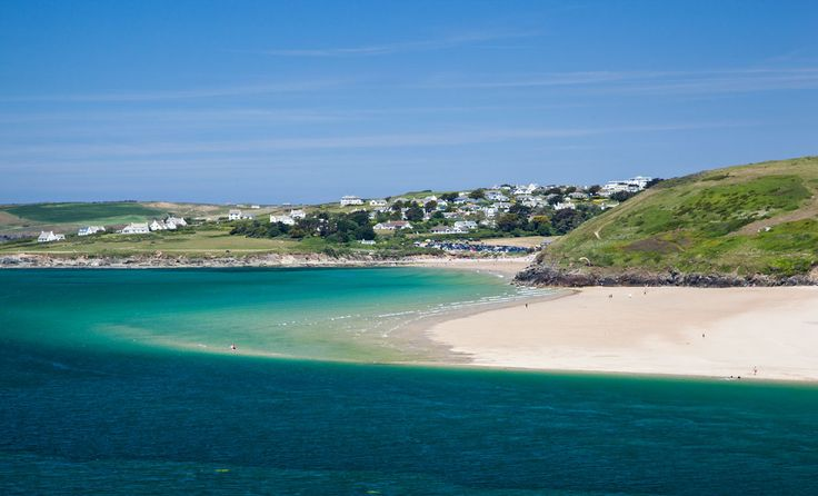 Daymer Bay from Padstow - Cornwall Guide Photos