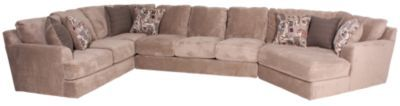 Homemakers Furniture: 3 Piece Sectional: Jackson Furniture: Living Room: Sectionals