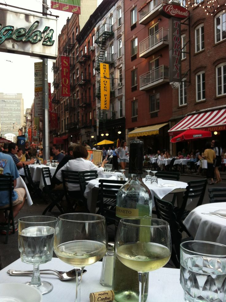 Angelo's of Mulberry St Little Italy Restaurant New