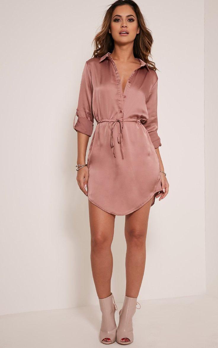 6eb50299a0949 Silk Shirt Dress Plus Size - BCD Tofu House