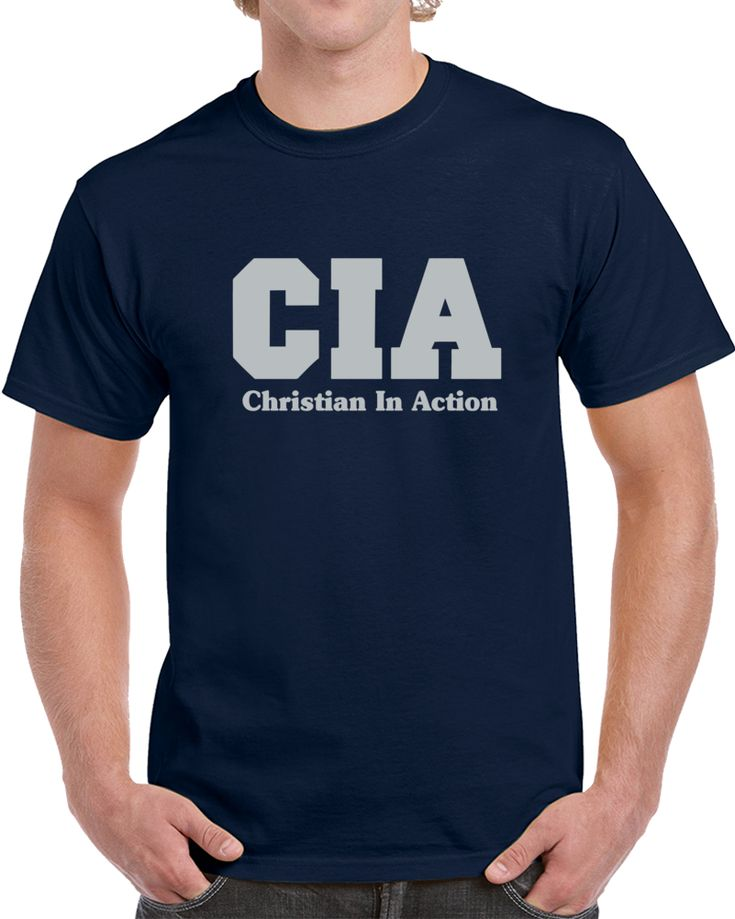 Cia Christian In Action   T Shirt