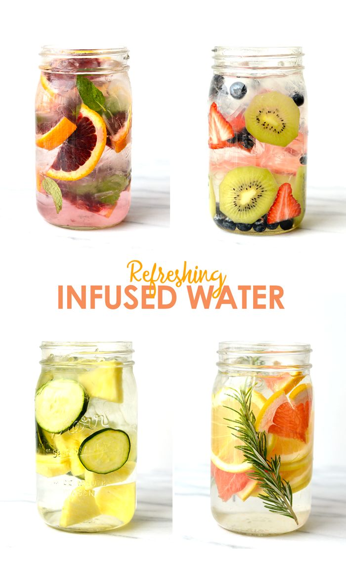 Add some flavor to your filtered water with fresh fruit and herbs for the most delicious and refreshing way to hydrate!