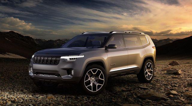 2020 Jeep Grand Wagoneer Hintergrund In 2020 Jeep Wagoneer Jeep Grand Jeep Cherokee Trailhawk