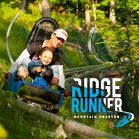 Ontario's first mountain coaster offers an exciting downhill adventure at Blue Mountain.