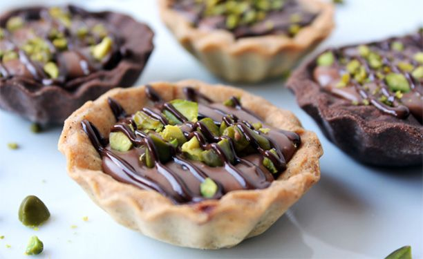 Nemme at lave og hurtige at spise – gode som en dessertkage eller som en lille hapser til eftermiddagskaffen.
