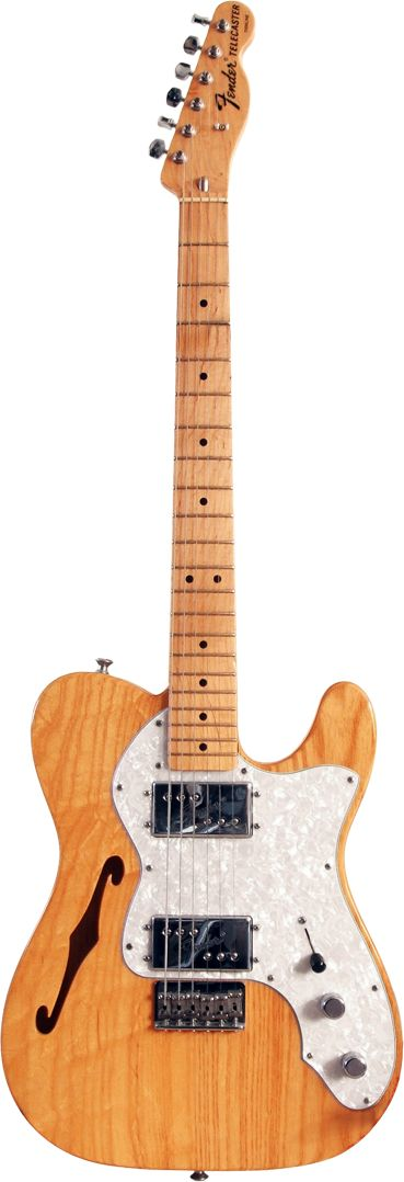 I have one of these Thinline Telecasters. They are light!!