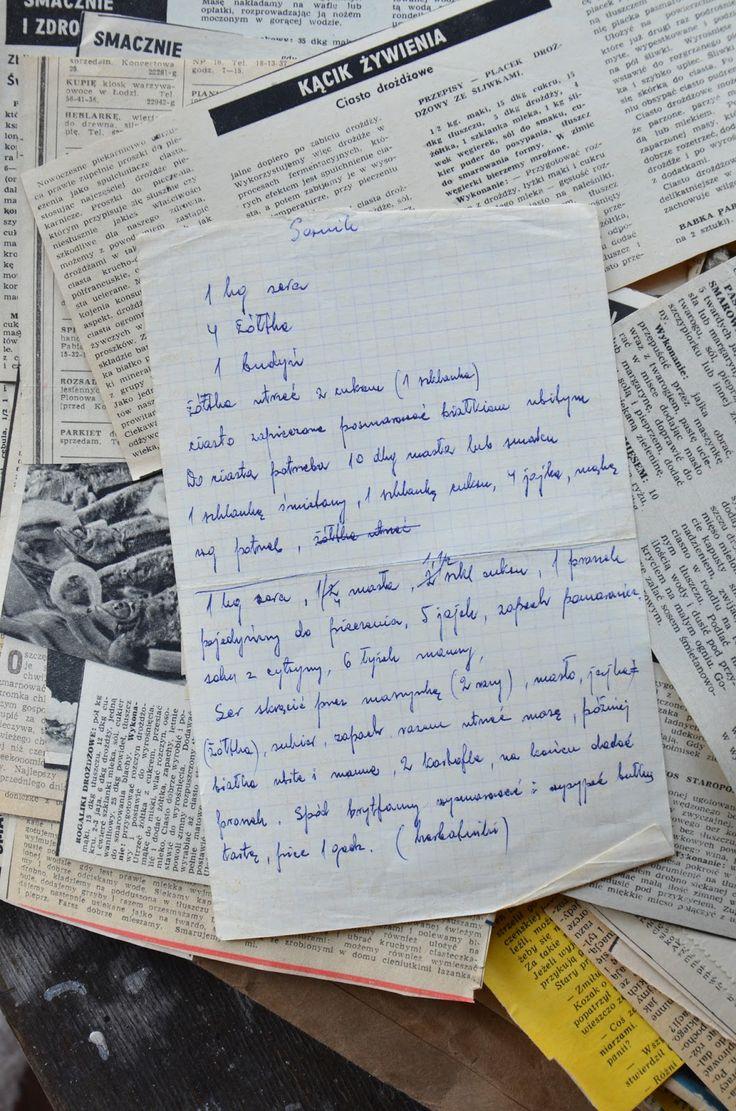 porady kuchenne - utrwalanie starych rodzinnych przepisów | Cook yourself...