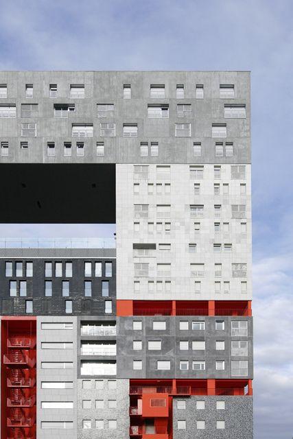 MVRDV & Blanca Lleó. Housing 'Mirador' in Madrid. Spain