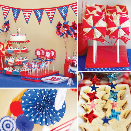 4th of july party supplies cheap