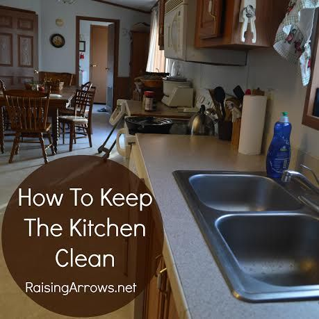 How to keep a kitchen clean clear the clutter get it for How to keep the kitchen clean
