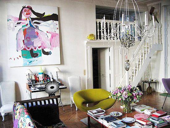 stairs: Decor, Interior, Idea, French Fashion, Paris Apartments, Lacroix S Paris, Living Room, Design