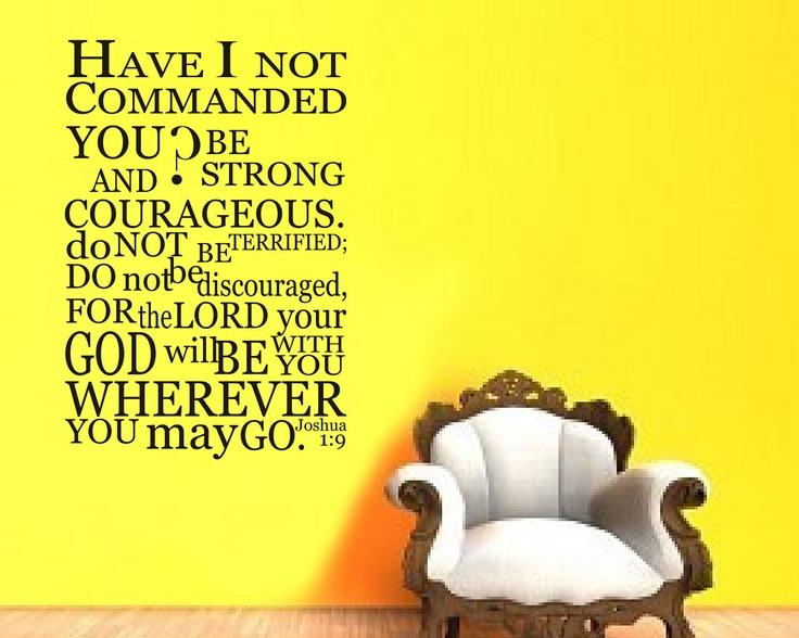 50+ best Joshua 1:9 images by Carol Esser on Pinterest | Bible ...