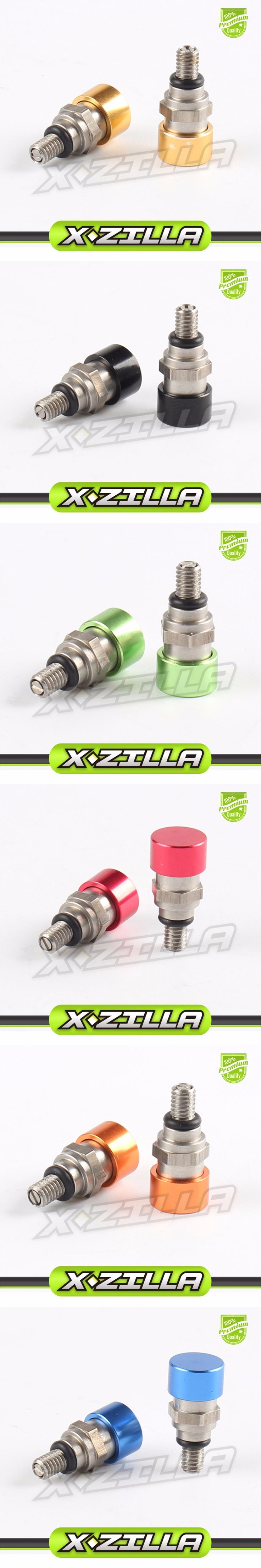 Two pc/pair M4*0.7mm Fork Bleeder Relief Valve Fork Relief Valve For SX SXF EXC XCW SMR SMCR Dirt Bike MX Motocross