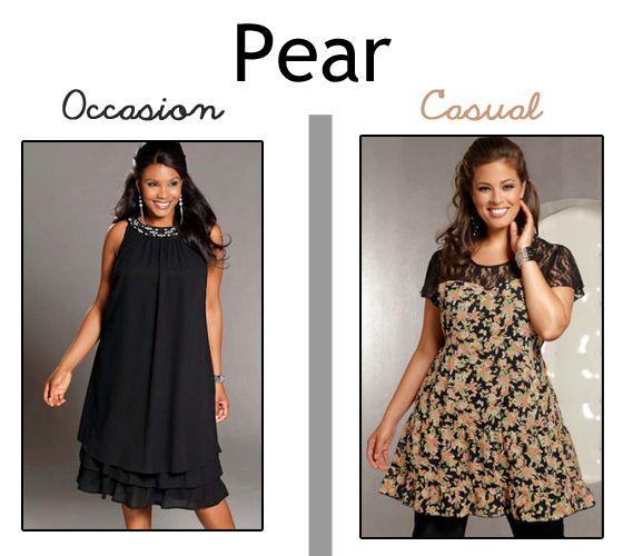 Dressing plus size pear shape