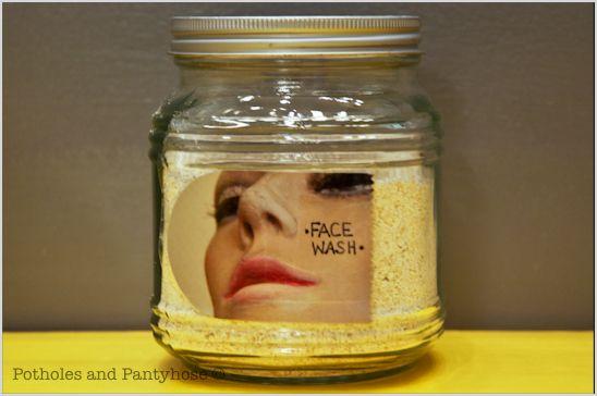 Cheap, Organic Face Wash (using nothing but oatmeal!)Beautiful Recipe, Homemade Face Wash, Organic Face, Diy Beautiful, Facewash, Homemade Skin Care, Face Cleanser, Face Wash4, Beautiful Products
