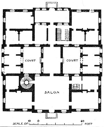 Queen's House, Greenwich   Floor Plans: Castles & Palaces ...