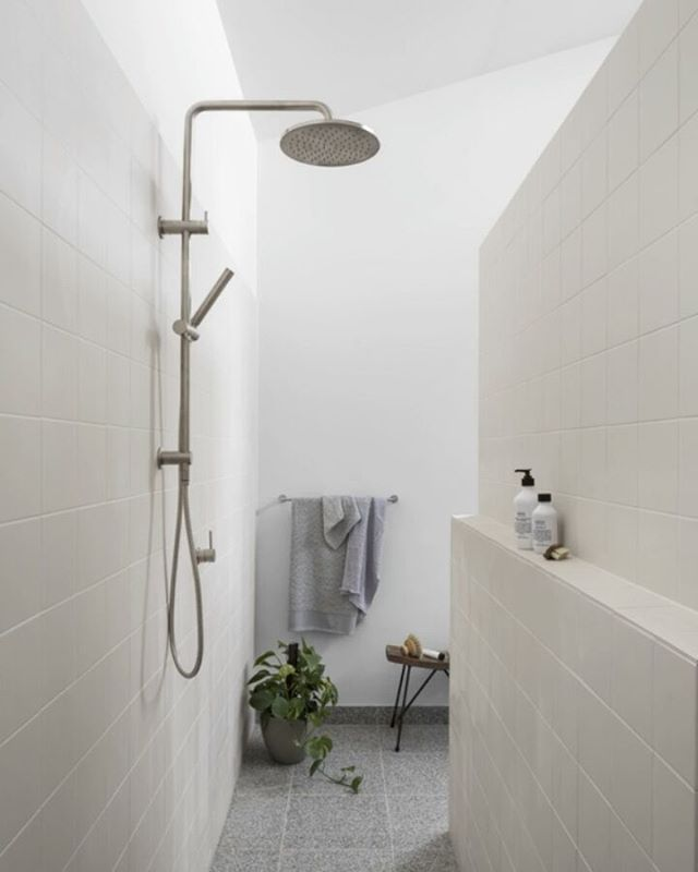 Nothing Beats A Hot Shower On A Cold Night The Issue Is In Getting Out We Loved This Faucetstrommen Small Bathroom With Shower Shower Heads Walk In Shower