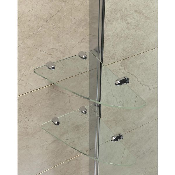 dreamline elegance 46 to 48 in frameless pivot shower door by dreamline