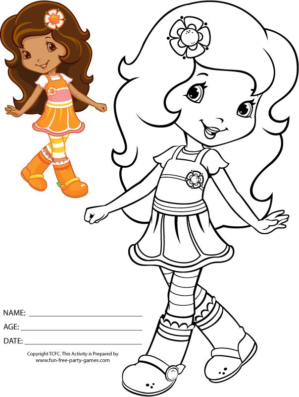 strawberry shortcake coloring page qtbxjb9t5gif 604800