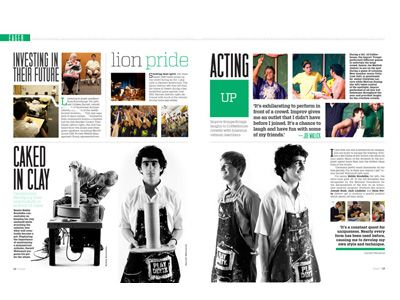 Adobe Winners   Jostens   Yearbook Spread Ideas