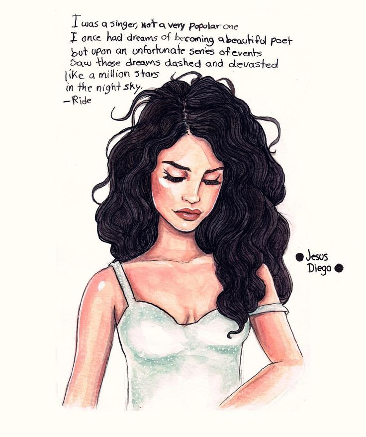 Lana Del Rey #LDR #art by Jesus Diego ♡