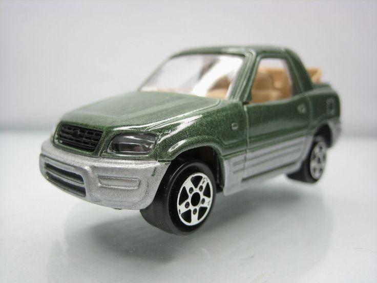 Diecast Majorette Toyota RAV 4 No. 230 Green Very Good Condition   eBay