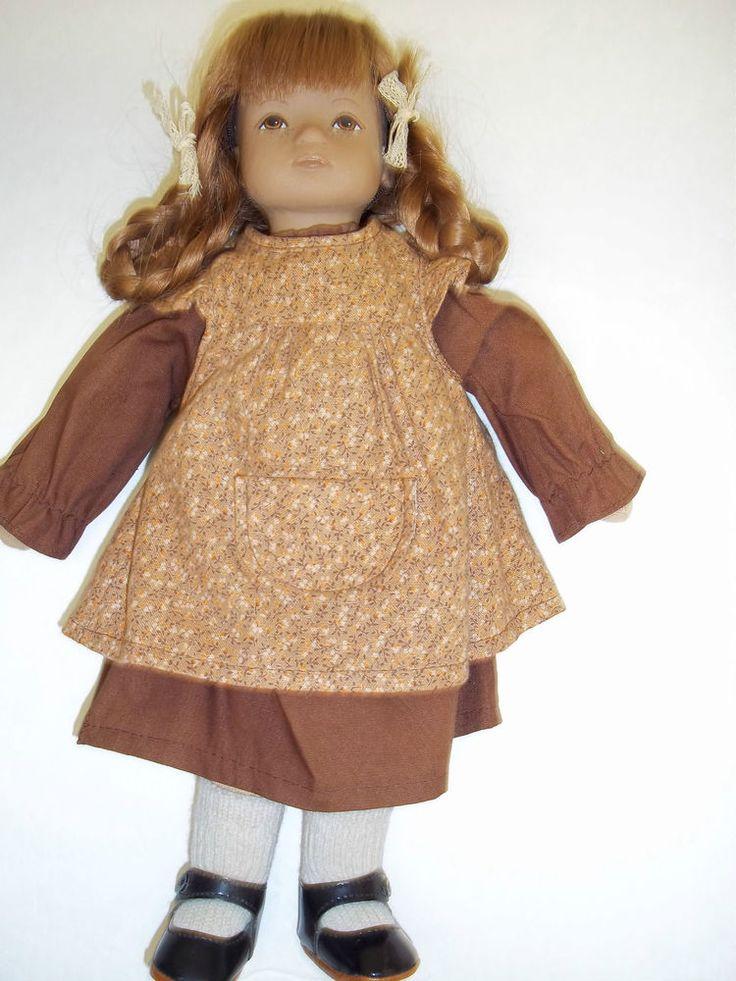 """Vintage Switzerland Heidi Ott Caroline - 13"""" 1980's - Excellent with Box #HeidiOtt #Dolls"""