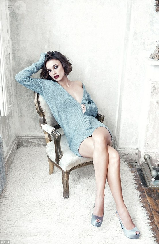 Kiera Knightly. I think she is the most beautiful woman ever.