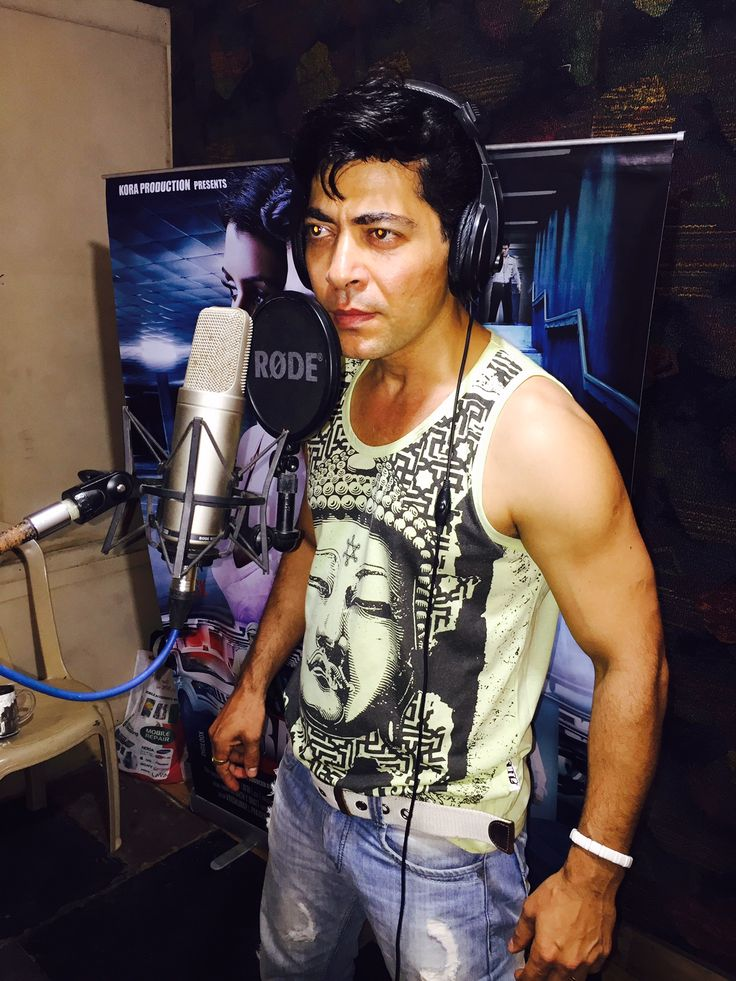 Dillzan Wadia at the dubbing of his upcoming film Four Pillars of Basement 1