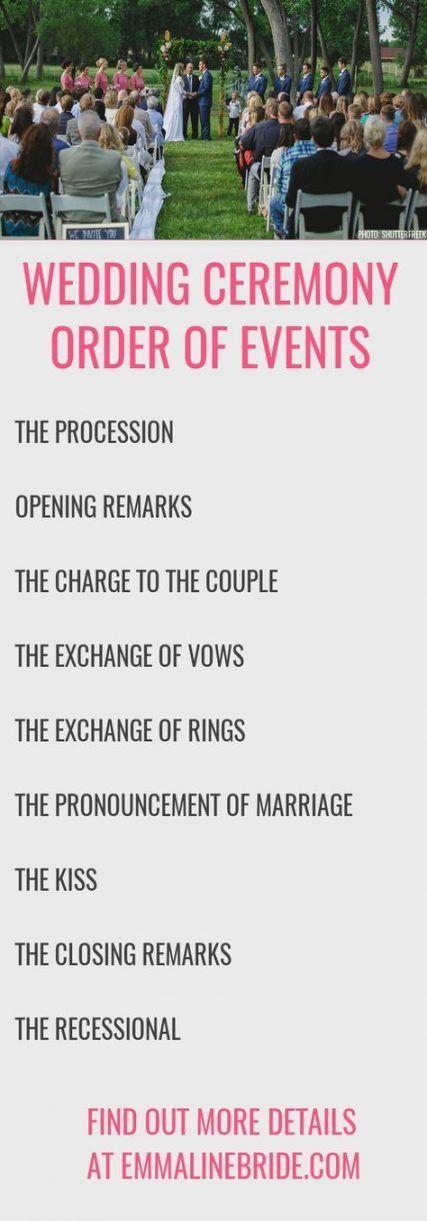 35+ Super Ideas for wedding reception timeline brides #wedding