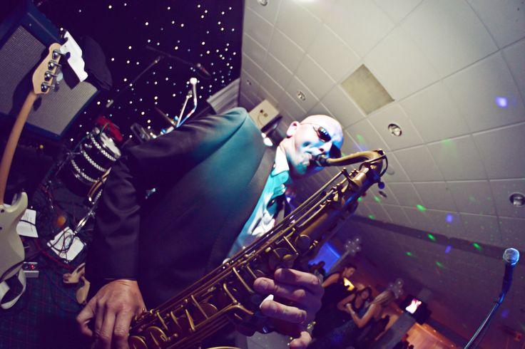 Steve Bone saxophonist. Live music for weddings in the North East & North Yorkshire by Jump The Q. www.jumptheq.info