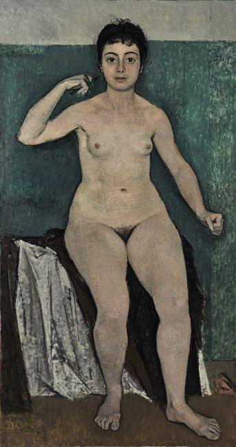 Yiannis Moralis - Figure, 1952