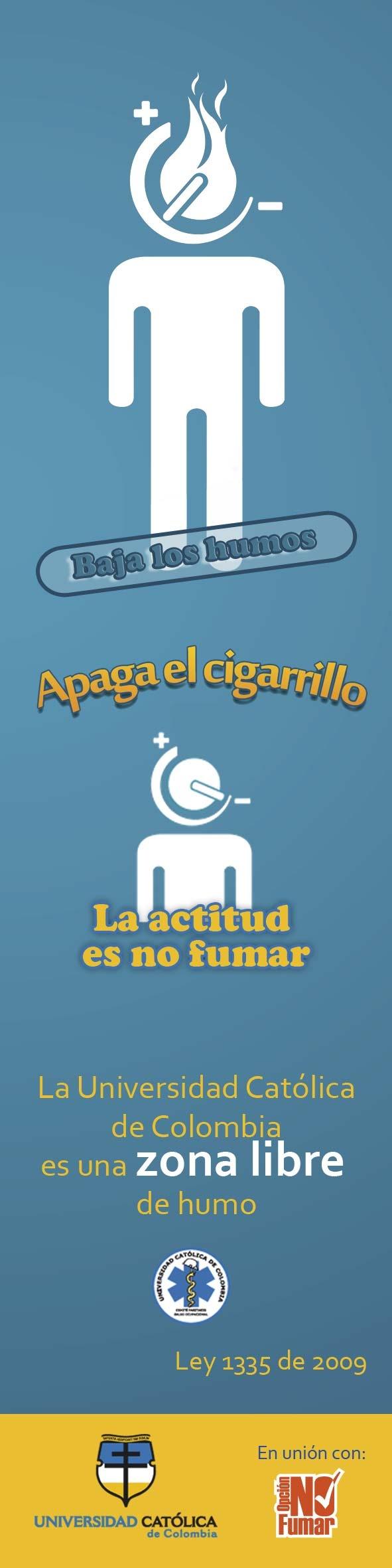 """UCatólicos, """"La opción es no fumar"""""""