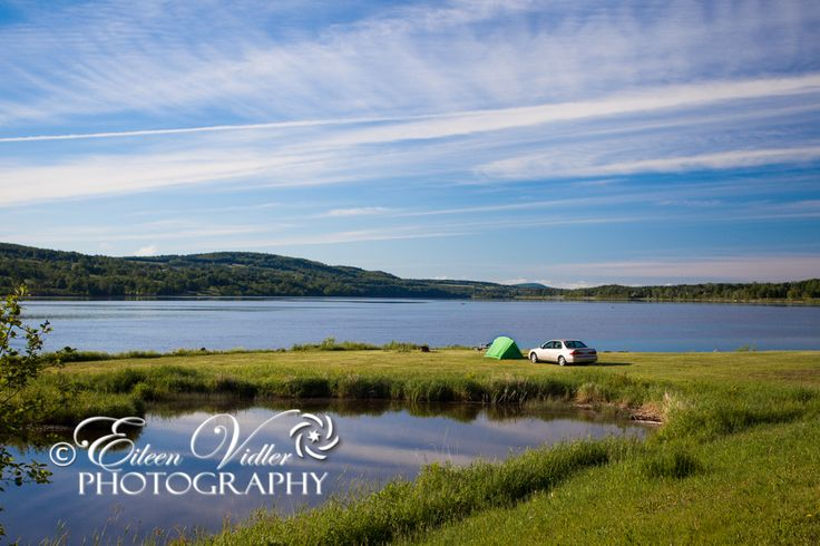Peaceful camping at Cosy Cabins, Woodstock, NB