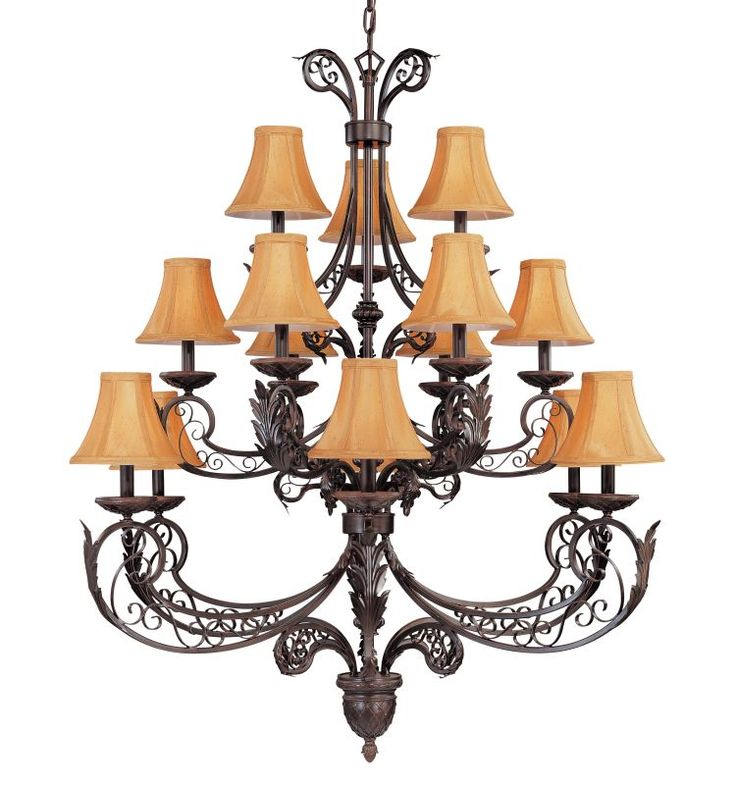 Love The Wall Finishes Chandelier And The Overall Tuscan: 17 Best Ideas About Iron Chandeliers On Pinterest