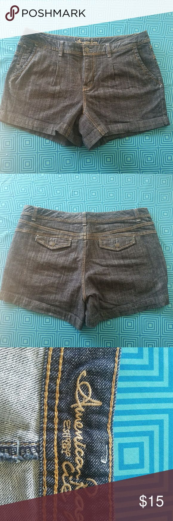 American Rag Jean Shorts size 18 Just what is needed for this summer comfortable jean shorts size 18 made by American Rag. American Rag Shorts Jean Shorts