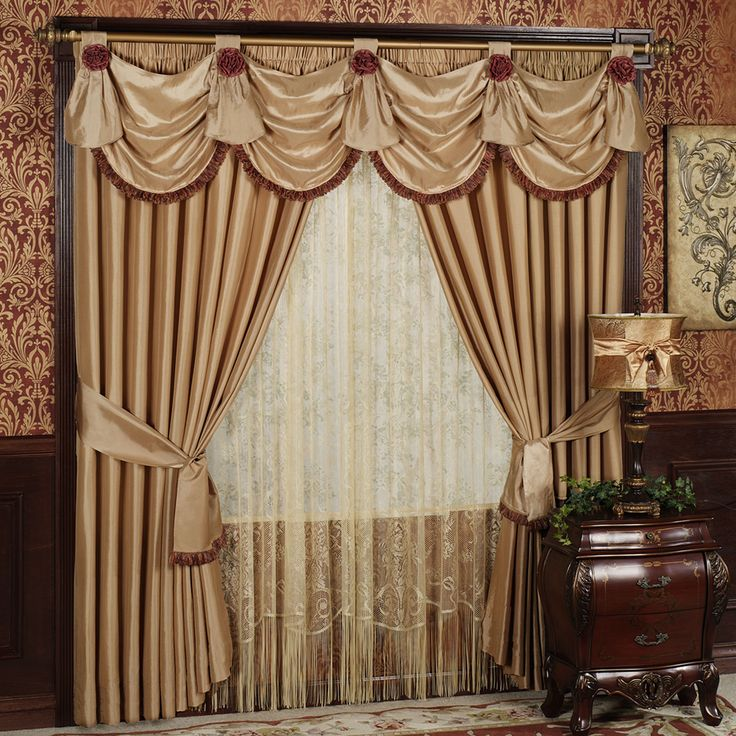 64 best Bay and Window Treatments images on Pinterest | Valance ...