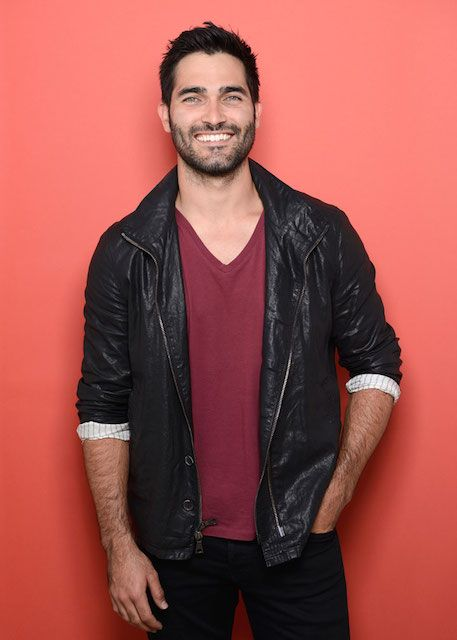 American actor, Tyler Hoechlin...