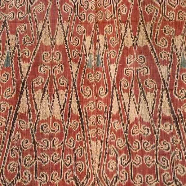 Antique Ikat Pua from Borneo Indonesia 2